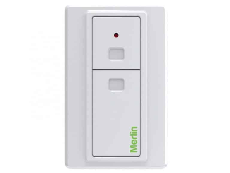 Two Button Wireless Wall Button (Security+2.0) (E138M)