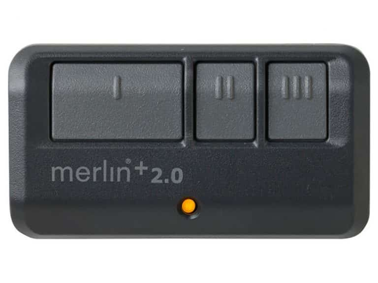 Three Button Merlin Garage Door Remote Control