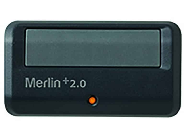 Single Button Merlin Garage Door Remote Control with Car Visor Clip